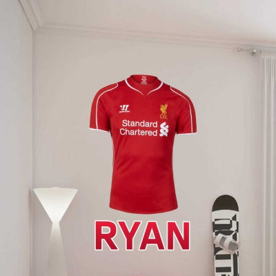 liverpool crest wall art decal large 120cm steven gerrard liverpool fc from gdirect wall